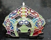 Fabric of the Universe Temple Hat Pin