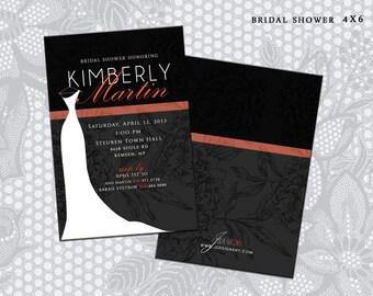 Dress Silhouette Themed Bridal Shower