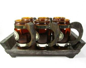 Vintage Siesta Ware Beer Mug, USS Shreveport LPD 12, mug,kitchenware, vintage beer mug,
