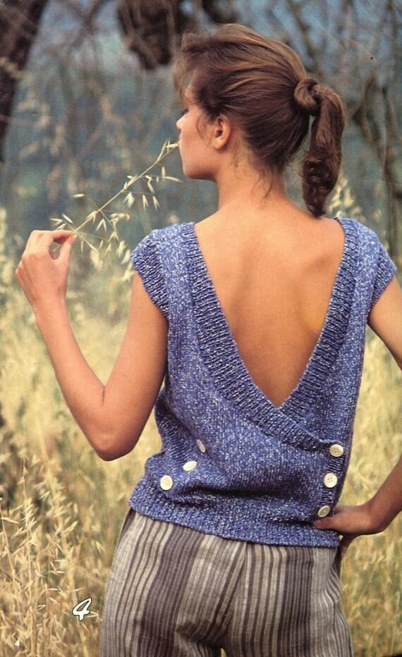 women u0026 39 s cotton yarn sweaters knitting pattern book sizes