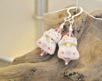 Beckoning Cat Earrings