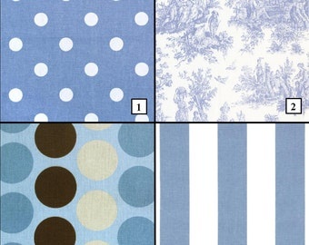 Baby Blue Curtains Blue Nursery Boy Nursery Polka Dot