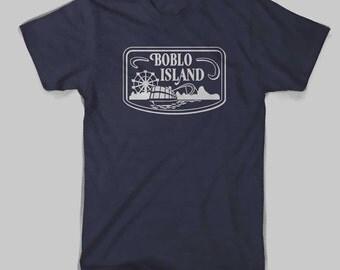 Detroit Boblo Island Navy American Apparel