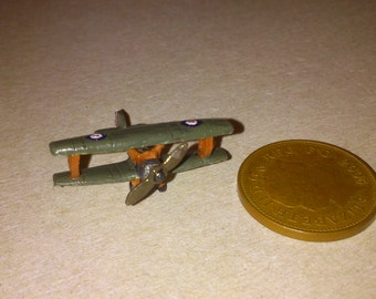 12th scale dolls house Biplane / toy plane
