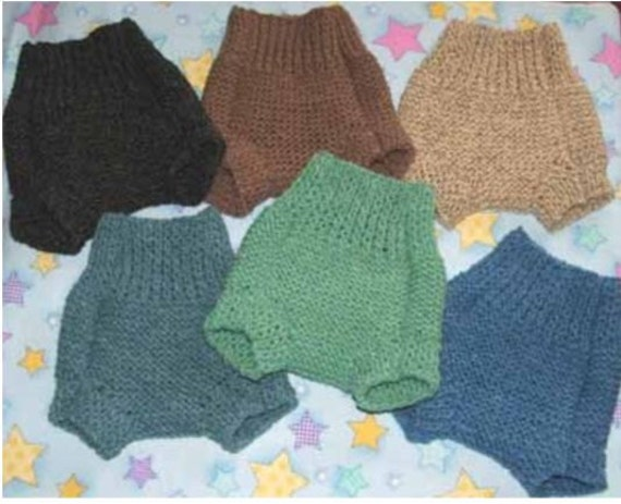 Knit Wool Diaper Cover Pattern : Unavailable Listing on Etsy
