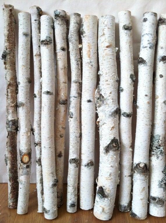 Birch Wood Logs ~ White birch logs by lightofdaycreations on etsy
