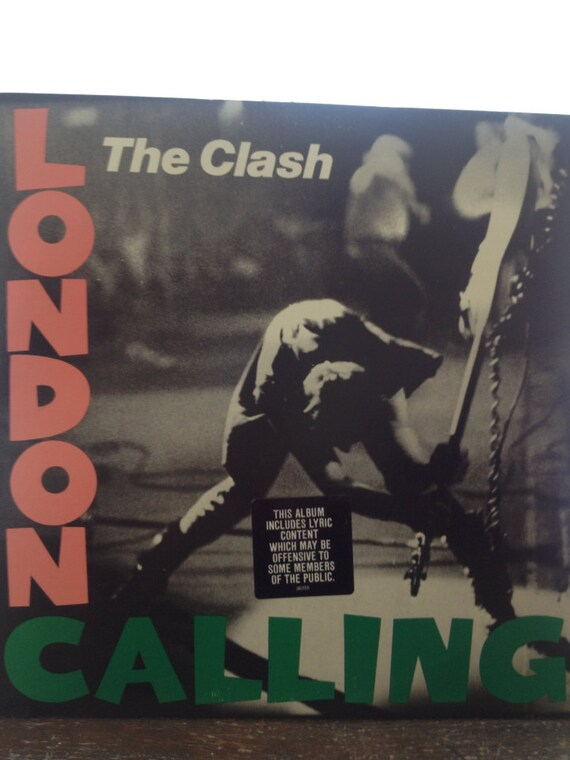 The Clash London Calling LP record album by HeyTokyoVintage
