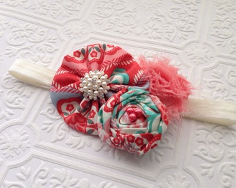 The Coral Diver Headband or Hair Clip