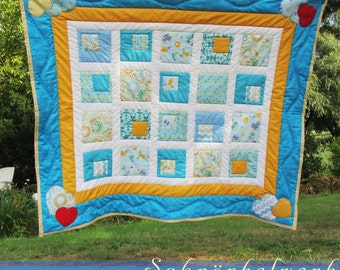 "Baby Blanket , Quilt , blanket "" zoo and circus """
