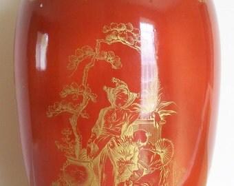 Vintage Mottahedeh porcelain vase made in Italy