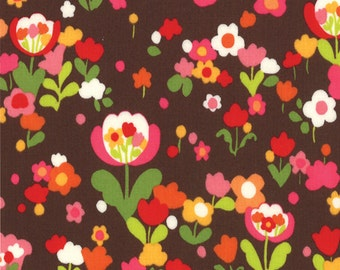 Oops a Daisy by Keiki (Brown) for Moda