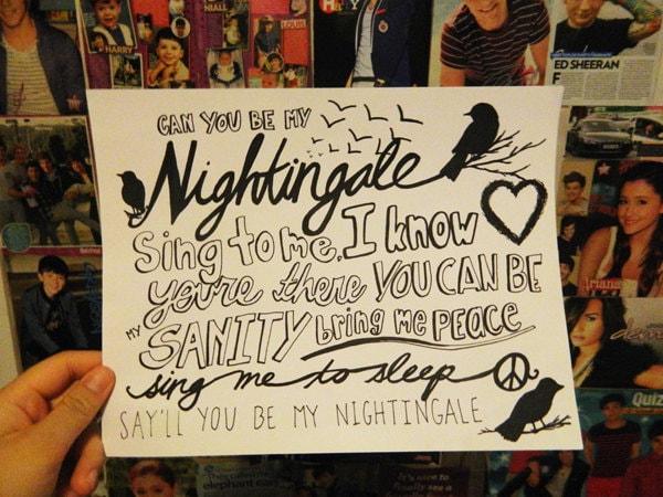 Nightingale Lamp Tattoo