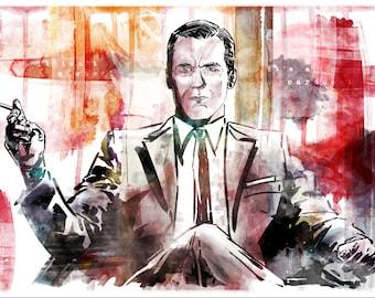 Mad Men Don Draper - Print