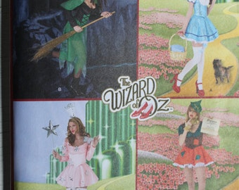Wizard of OZ Costume PATTERN Simplicity 2546,  Dorothy Good Witch  Sizes 8-16