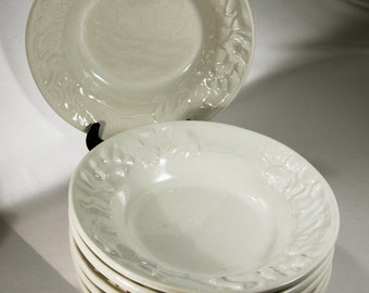 Pasta Bowls Williams Sonoma Made In Portugal Six White