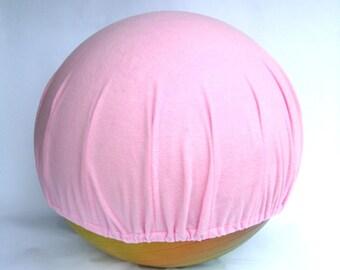 65cm Exercise Ball COVER 65cm Balance Ball COVER Pink Fleece