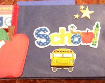 School paper bag album