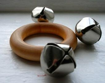 Tambourine Rattle - Montessori Inspired