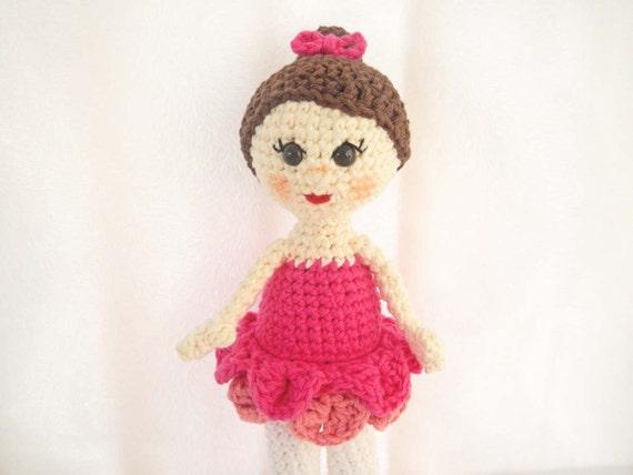 Amigurumi Doll Pattern Ballerina Crochet Doll Ballet ...