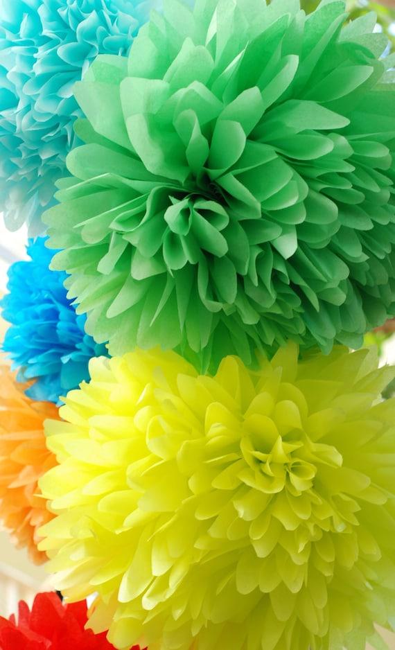 how to make birthday pom poms