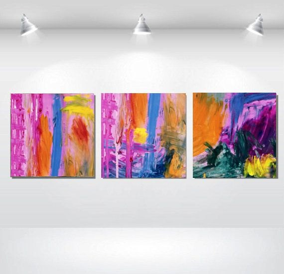 wall decoration using colorful - photo #22