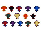 Jesse James Buttons 14 Airplanes Dress It Up Novelty Buttons