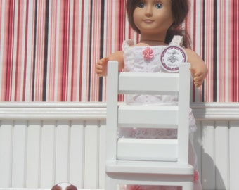 american girl and other 18 inch dolls furniture handmade chair for kitchen dining or living
