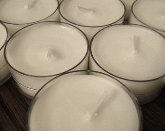 Soy Wax Tealight Votives - choose your scent per dozen - FO or EO