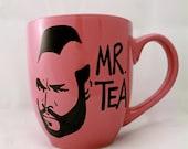 Mr T Tea Mug Pink - Mugoos