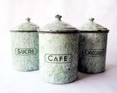 Mint Green Kitchen CANISTERS