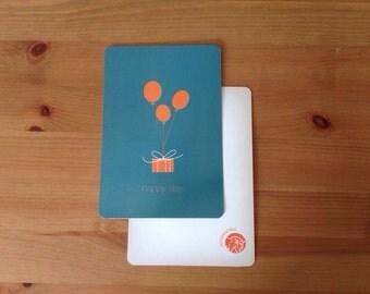 Happy Day Birthday Card & Envelope