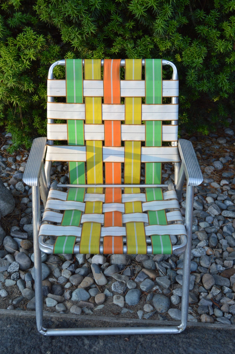 vintage webbed lawn chair aluminum webbed lawn chair cing