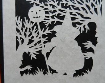 The Haunted Wood Scherenschnitte