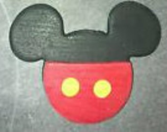 Mickey Mouse Edible Cupcake Toppers