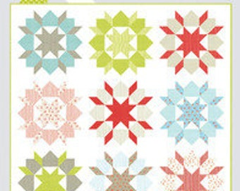 Swoon Pattern by Camille Roskelley for Thimble Blossoms.  Perfect pattern for 18 fat quarters