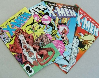 The Uncanny X-Men issues 187 to 190
