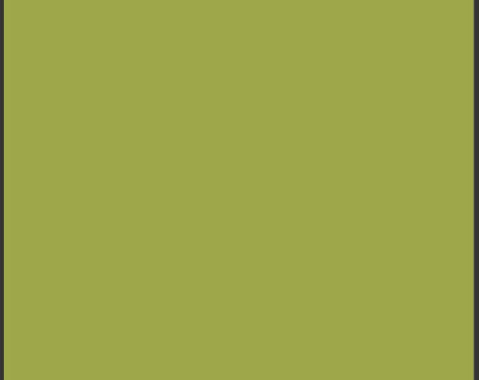 One Yard Dark Citron- Pure Elements Solid Cotton Quilt Fabric - from Art Gallery Fabrics - PE-414 (W490)