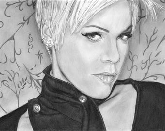 A3 professional custom pencil portraits from your photo