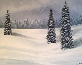 Snowy Pine Tree Png