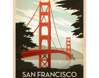 San Francisco Golden Gate Bridge Wall Decal #42214