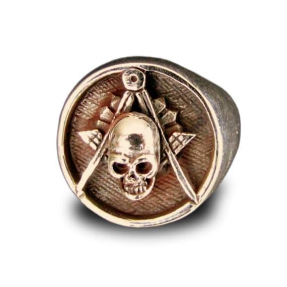 Freemason Ring For Sale Freemason Ring Skull And