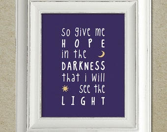 mumford & sons art print / the ghosts that we knew lyrics