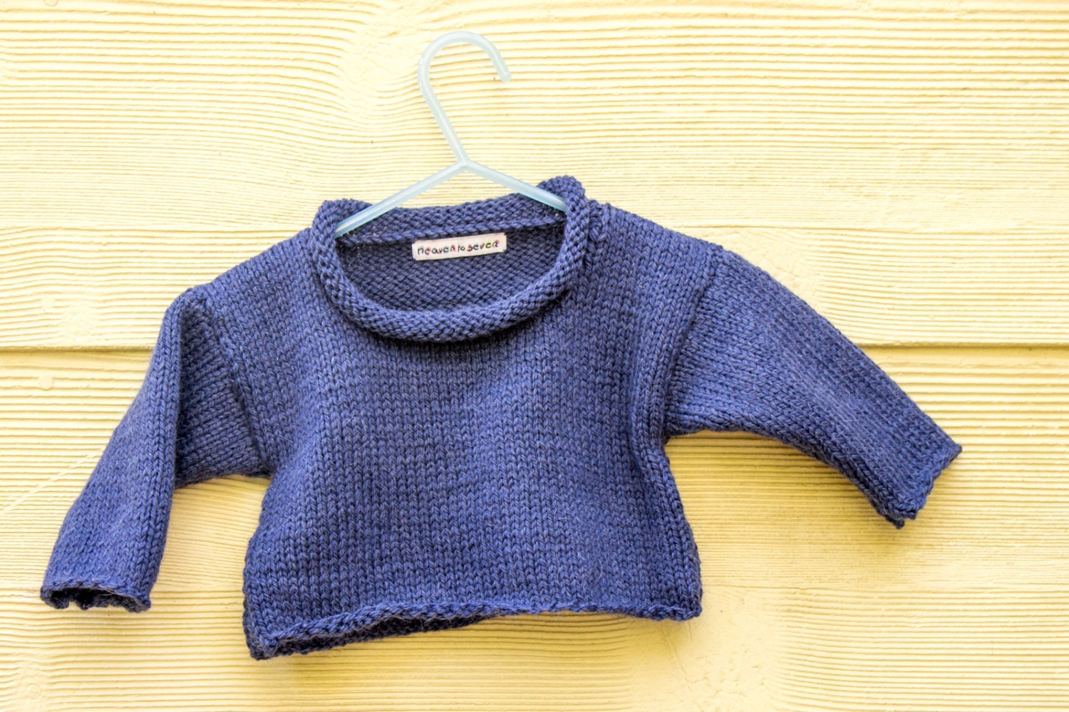 KNITTING PATTERN Baby Sweater Baby Jumper Easy Baby Sweater