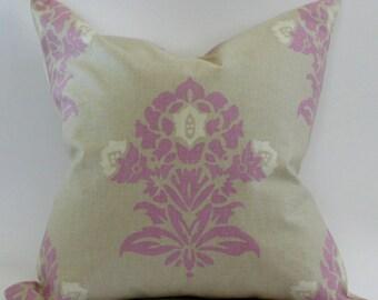 Jaipur Pillow Cover in Plum
