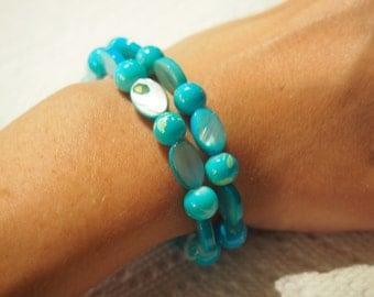 Japanese Style Stretch Bracelet.