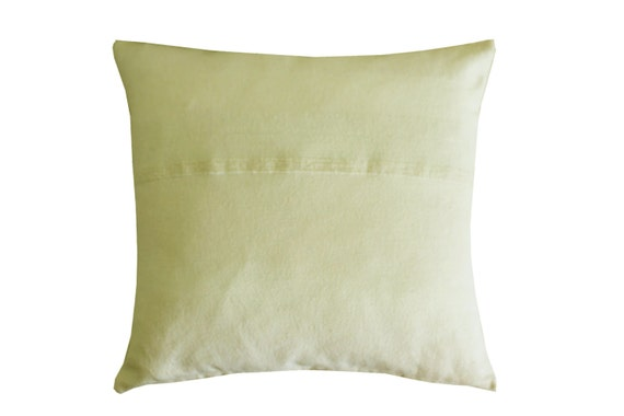 Organic Decorative Pillow Covers : Natural color pillow cover Decorative Throw Pillow Covers
