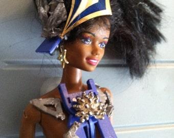 La Quanza altered art doll