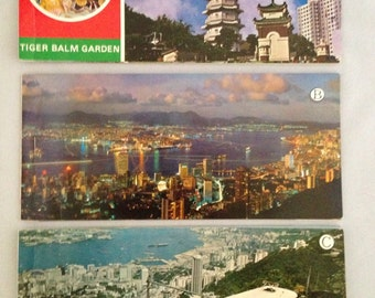 Vintage Hong Kong Postcards