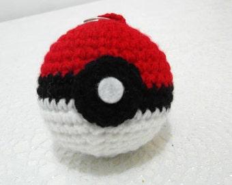 red and  White Pokimon ball