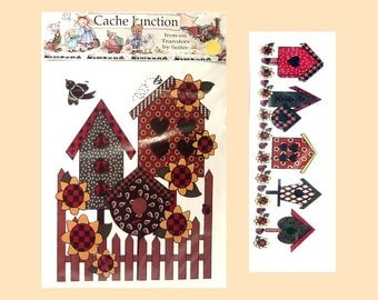 Birds and Birdhouses Heat Set Transfers by Cache Junction